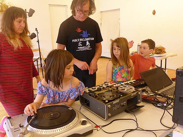 Graphic Scores and Found Sound Workshop